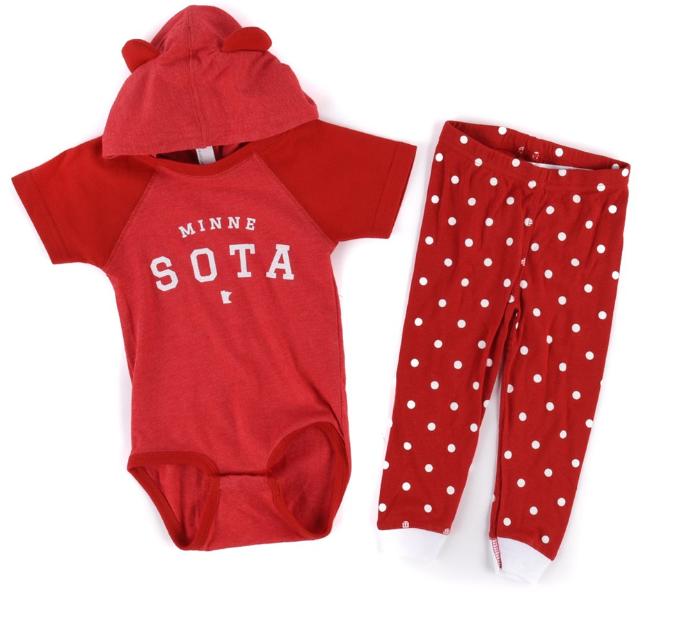 Plato Hooded Onesie Set