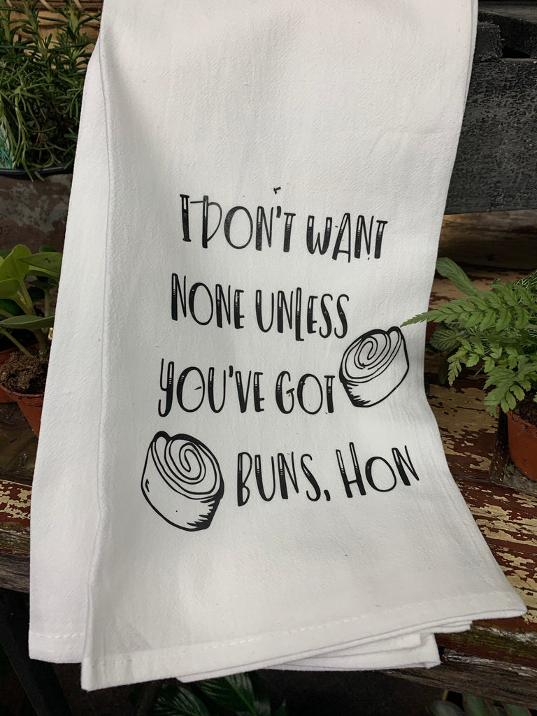 Got Buns, Hon Tea Towel