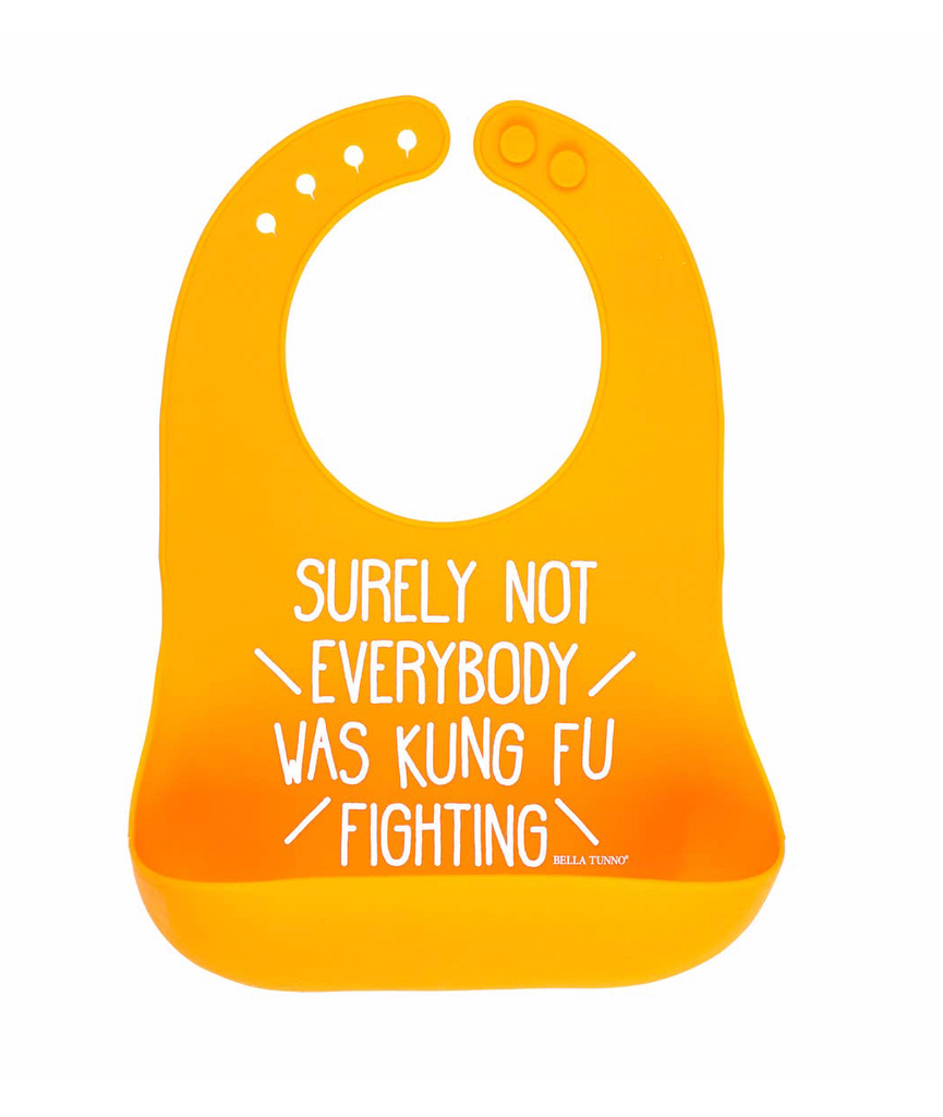 Kung Fu Fighting Wonder Bib