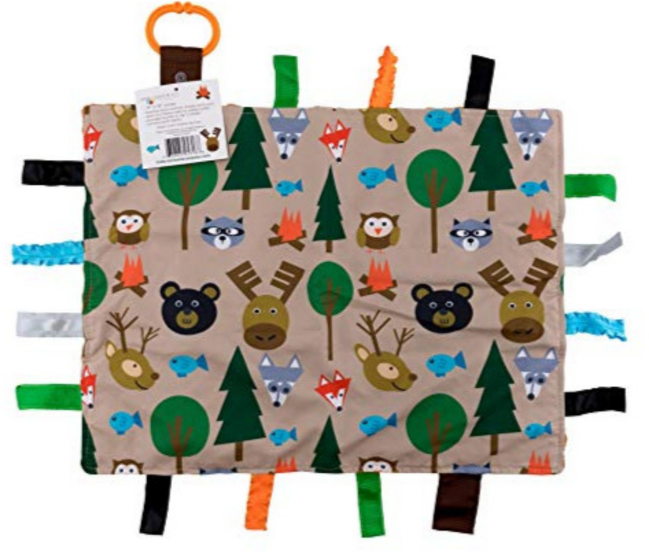 Forest Animals Tag Blanket