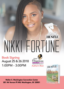 Meet Nikki Fortune - Ubiquitous Hair Show - Author's Row