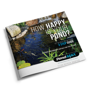 PondMAX 3 Step Guide to a Happy Pond.