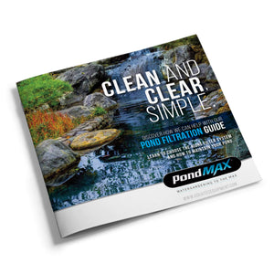 PondMAX Filtration - Clean. Clear. Simple.