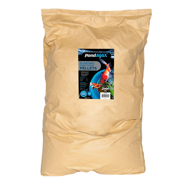 PondMAX Fish Food Pellets 15KG - 2mm