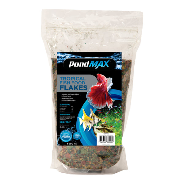Tropical Fish Flakes 650gm