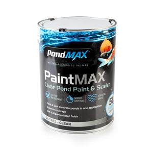 PondMAX Pond Paint & Sealer 5L Clear