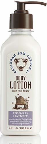 9.5 oz. Honey and Rosemary Lavender Body Lotion