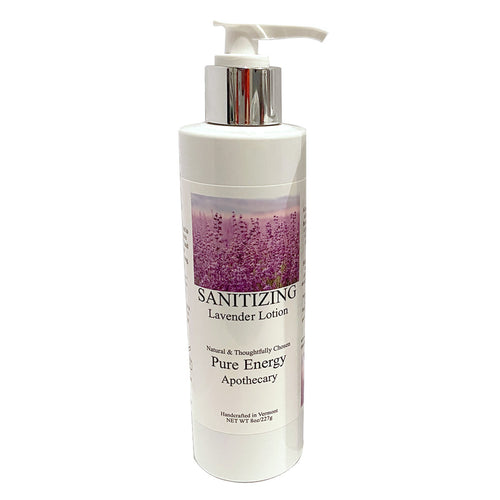 8 oz. Sanitizing Lavender Lotion, 70% Isopropyl Alcohol