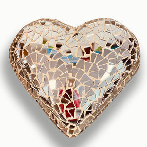 Mosaic Heart, Monochromatic Collection