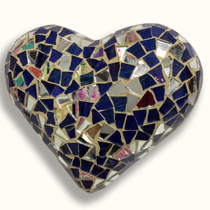 Mosaic Heart, Mixed With Mirrors Collection
