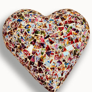 Mosaic Heart, Happy Colors Collection