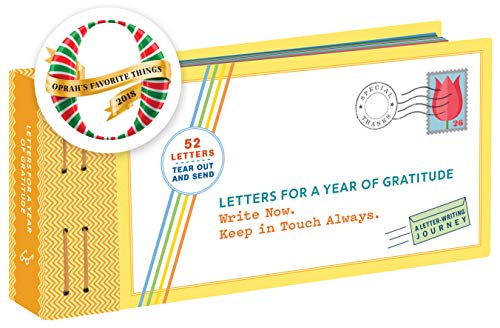 Oprah's Favorite! Letters for a Year of Gratitude