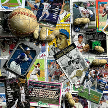 Load image into Gallery viewer, Wooden Atlanta Braves Baseball Card Puzzles
