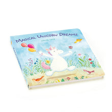 Load image into Gallery viewer, Unicorn Dreams Book and Bashful Unicorn Set