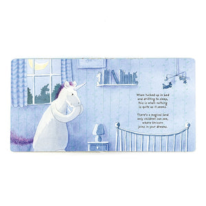 Unicorn Dreams Book and Bashful Unicorn Set