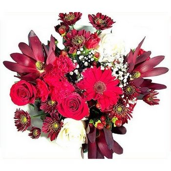 Burgundy Blast Bouquet