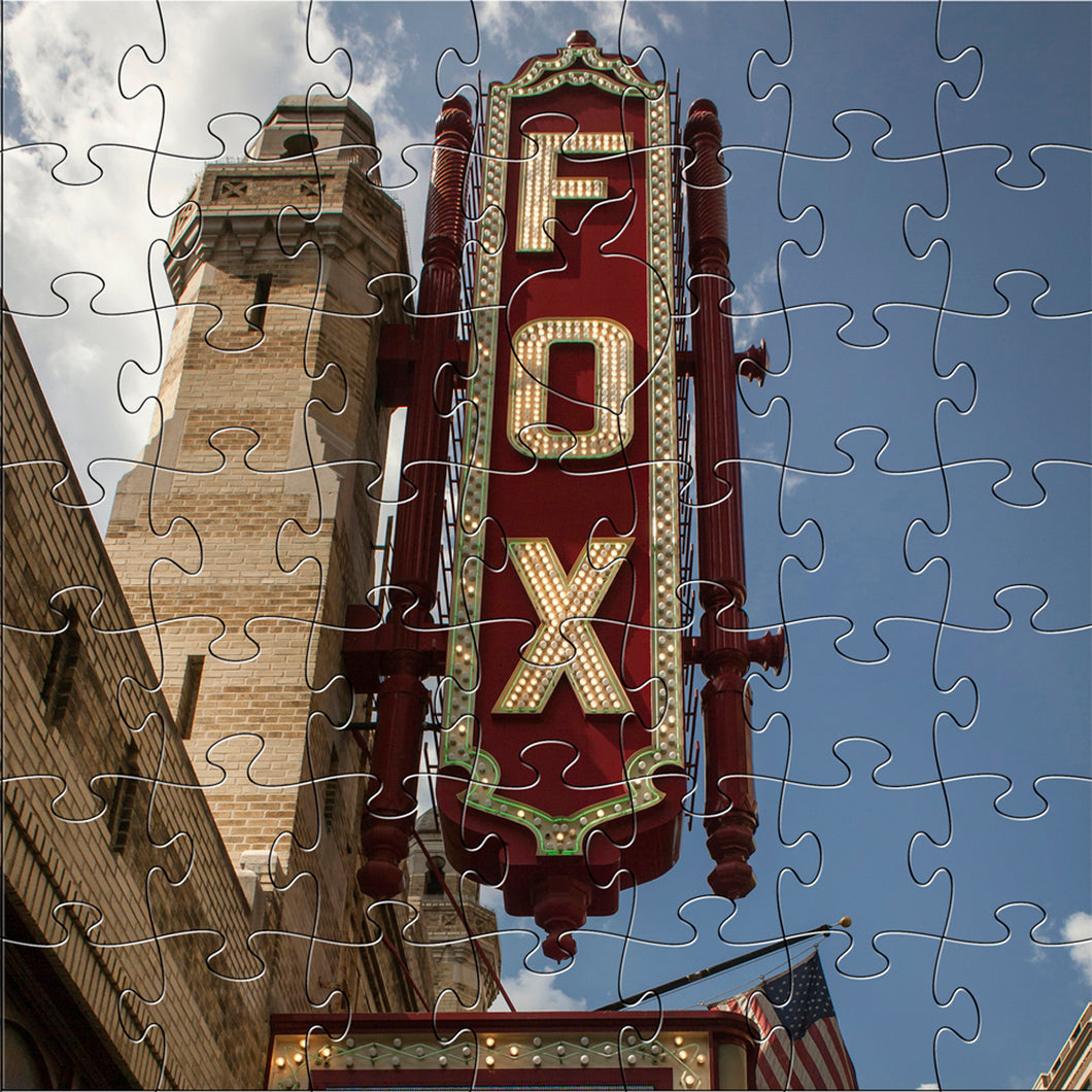 Wooden Fox Theatre Puzzle