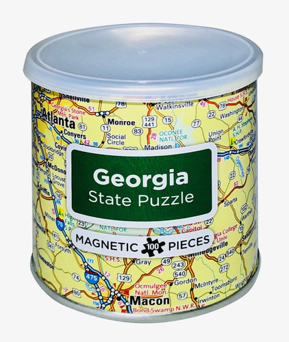 Georgia Magnetic Puzzle