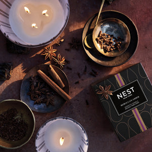 Nest! Moroccan Amber Votive Candle