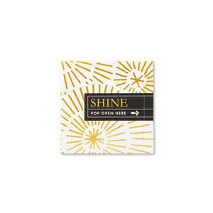 Shine Pop-Open Cards