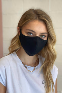 Black F-11 Face Mask Cotton