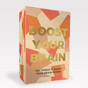 Boost Your Brain Card Deck