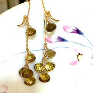 Citrine Dance Earring