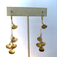 Load image into Gallery viewer, Citrine Dance Earring