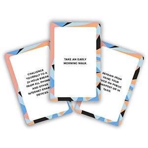 Digital Detox Card Deck