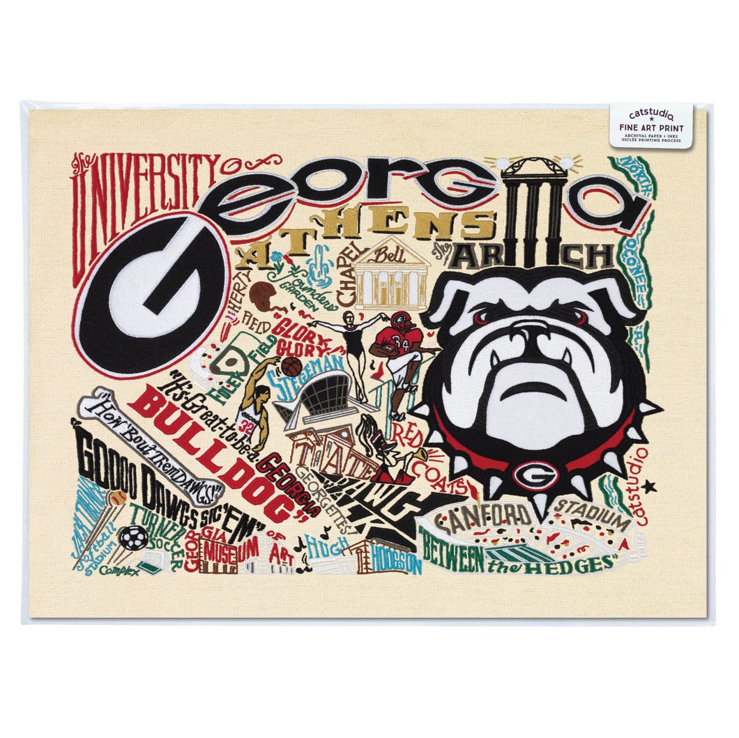 Georgia State University (GSU) Fine Art Print
