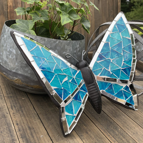 Mosaic Butterfly, Monochromatic Collection