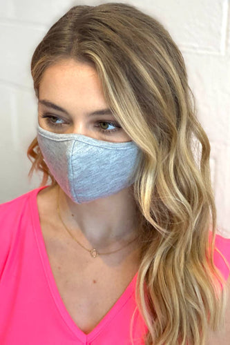 Grey F-11 Face Mask Cotton