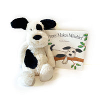 Load image into Gallery viewer, Puppy Makes Mischief Book and Plush Set