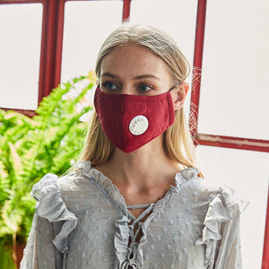 Solid Color Mask w/breath device