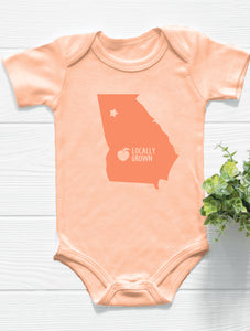 Locally Grown Atlanta Baby Bodysuit