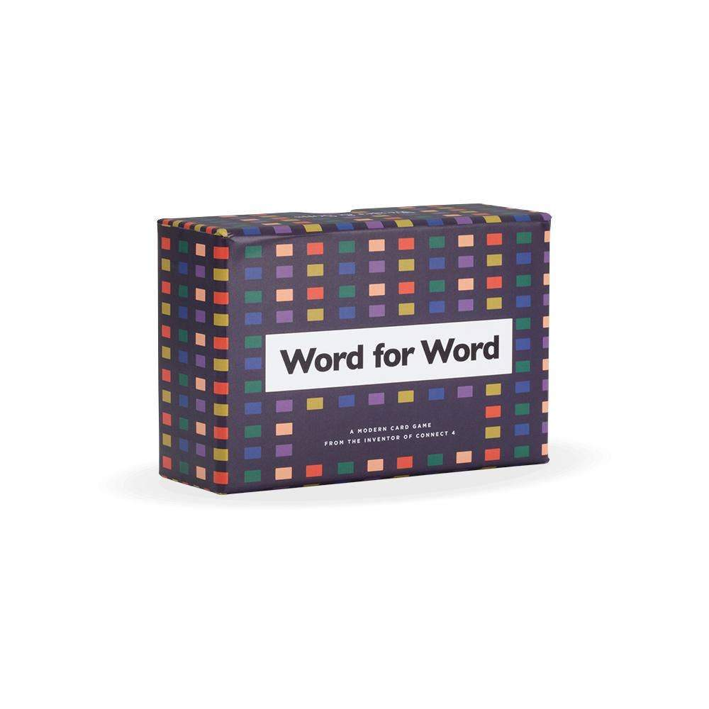 Word for Word Game Cards