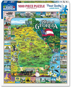 Historic Georgia - 1000 Piece Jigsaw Puzzle