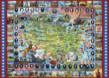 Load image into Gallery viewer, United States Presidents - 1000 Piece Jigsaw Puzzle