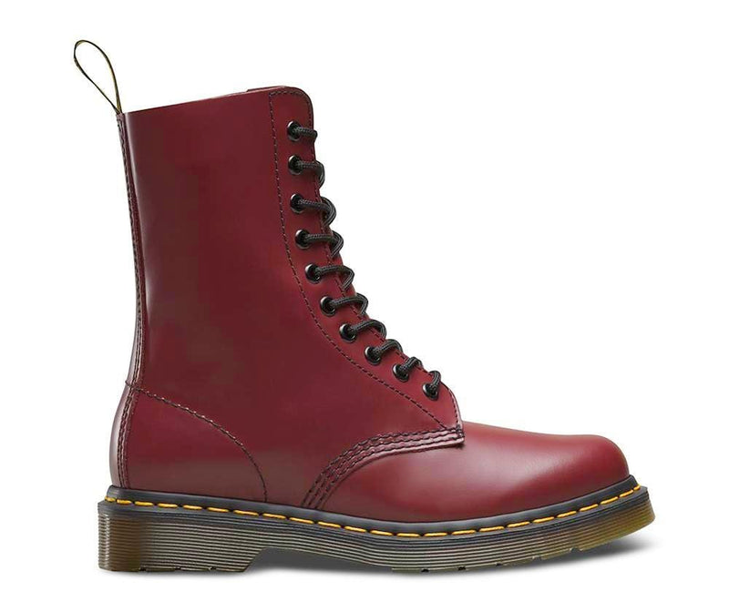 1490z - Cherry Red Leather