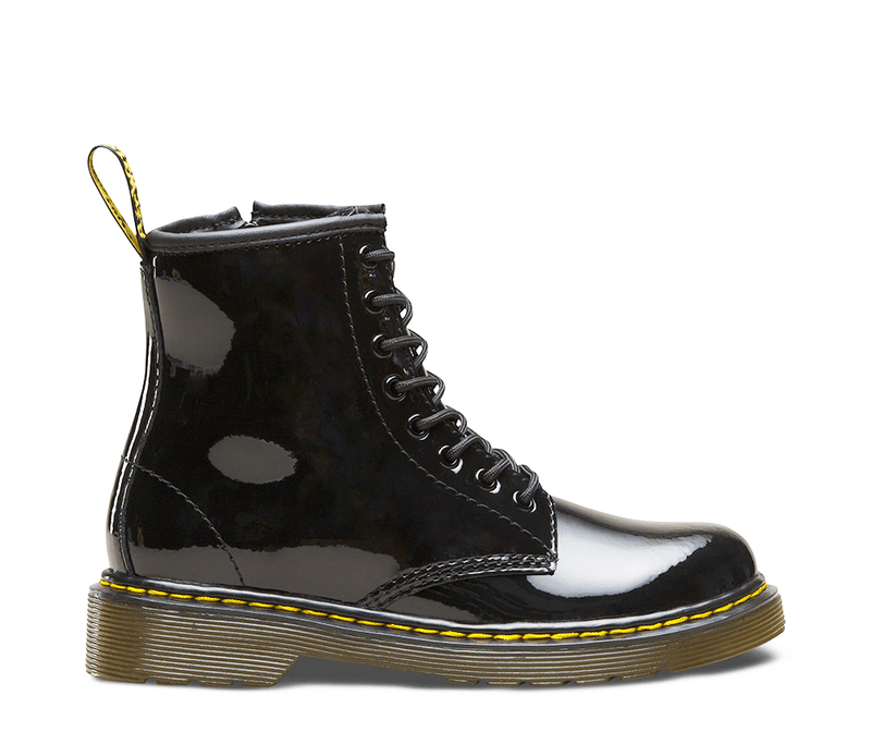 Delaney Kid's - Black Patent