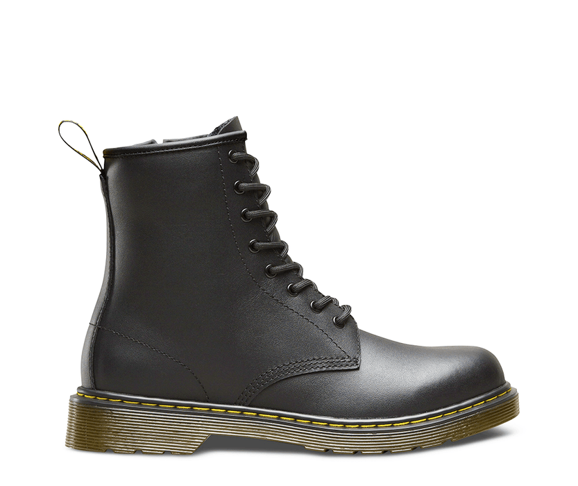 Delaney Youth - Black Leather