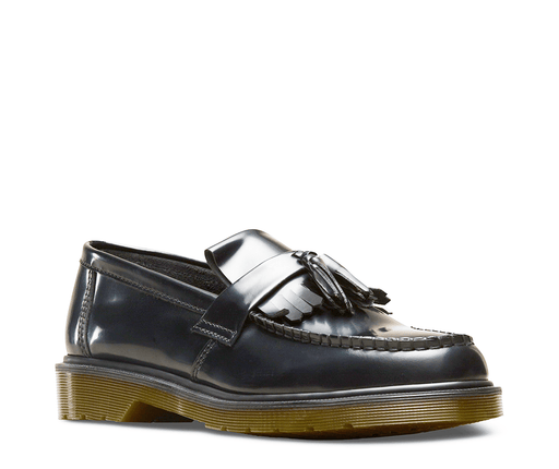 Adrian Loafer - Black Smooth Leather