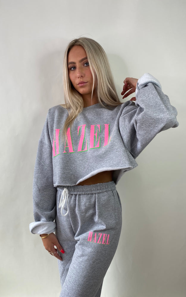 Grey Hazel Nirvana Crewneck (uncropped)