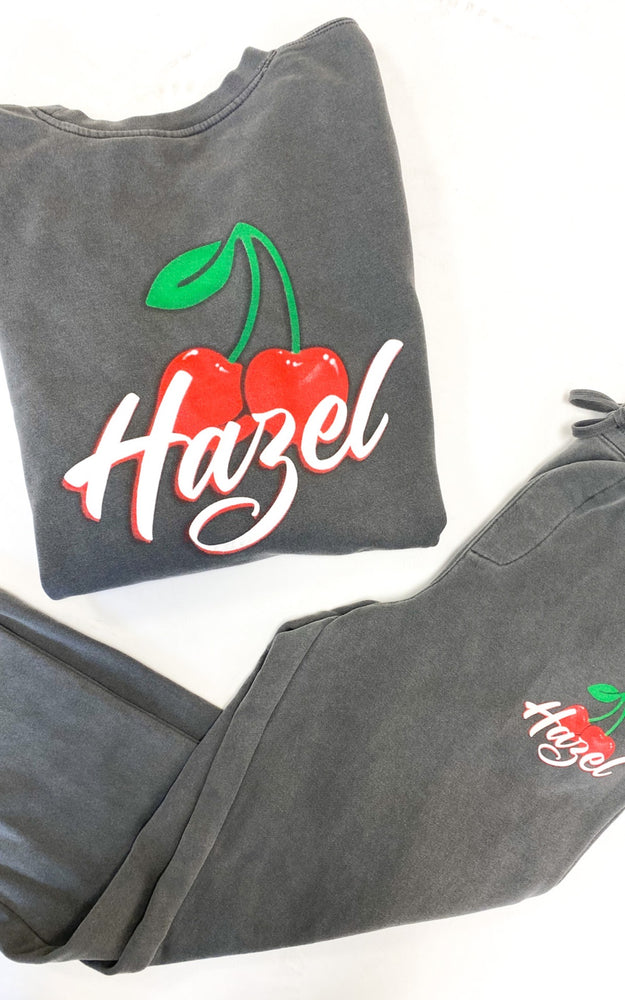 Hazel Cherry Sweatpants