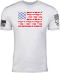 Freedom Isn't Free, The Price of Freedom, Some Gave All All Gave Some, Wargasm Clothing Company, Veteran Owned & Operated, Combat Veteran, Disabled Veteran, Combat Vet, Disabled Vet, Iraq War, Amputee, Amputation, Prosthetic Limbs, Prosthetics, Grenades, IED, Explosions, Rocket Launchers, War Wounds