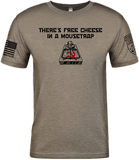There's Free Cheese In a Mousetrap, Anti-Socialism, Anti-Communism, WARGASM Clothing Company, Veteran Owned, Wargasm, Sickle and Hammer, Hammer & Sickle, free cheese in a mousetrap, no communism shirt, anticommunist