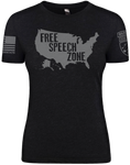 WARGASM, Wargasm Clothing, Free Speech, Free Speech Zone, Freedom, Freedoms, Freedom of Speech, American, Constitution, First Amendment, 1st Amendment, 1A, USA