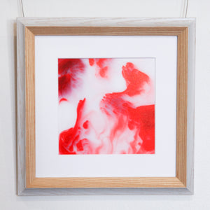 Chapel // Strawberries And Cream - Framed Print