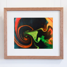 Load image into Gallery viewer, Shaman Exhaling - Framed Print