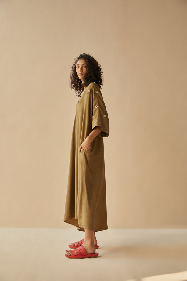 Field of Daisies tencel kaftan